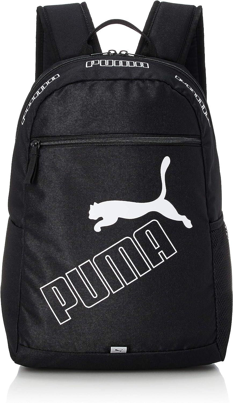 PUMA Phase Backpack II Mochilla, Unisex Adulto, Black, Talla única (OSFA)