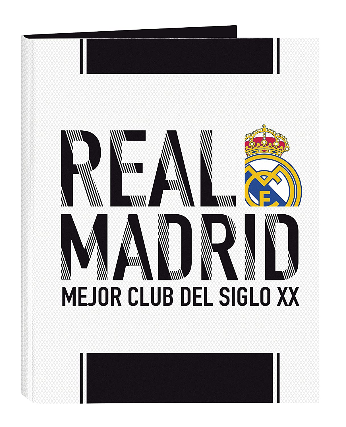 Real Madrid 511854067 2018/19 Carpeta A4, 33 cm, Blanco: Amazon.es: Oficina y papelería