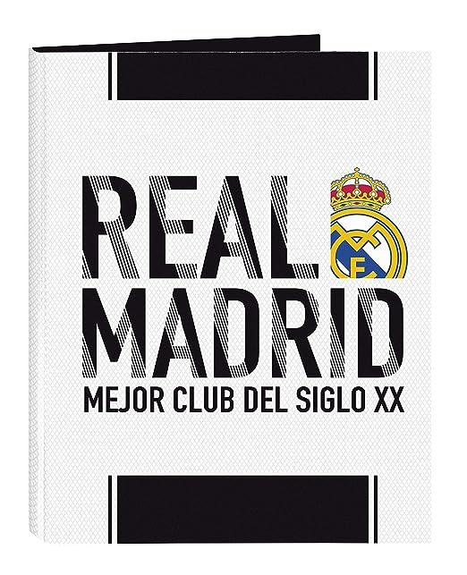 Real Madrid 511854067 2018/19 Carpeta A4, 33 cm, Blanco