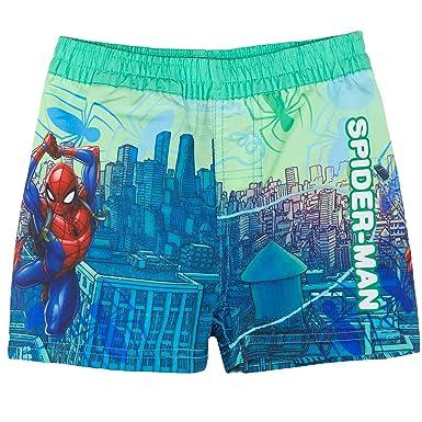 48b24d7b69 Spiderman Marvel Original Boys Swimming Shorts Trunks Swimwear 2-8 Years -  Red, Green: Amazon.co.uk: Clothing