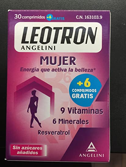LEOTRON MUJER 24+6 COMP.
