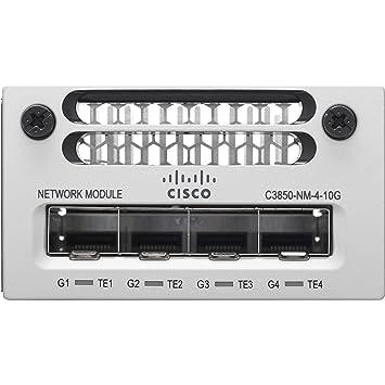 Amazon com: Cisco 4 x 1GE/4 x 10GE Network Module Spare