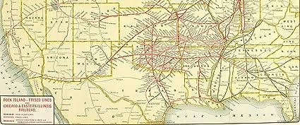 Amazon.com: Home Comforts LAMINATED POSTER Map of Through Colorado ...