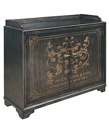 Pulaski Isabel Wine Cabinet, 51 By 17 By 43 Inch, Brown