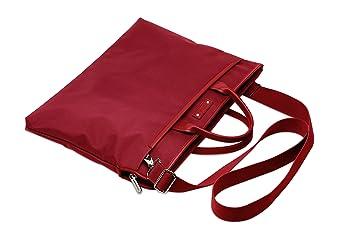 Agenda de microfibra cartera Tote roja: Amazon.es: Oficina y ...