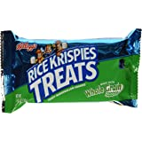 Kellogg's Rice Krispies Treats, Whole Grain Snack Bars, 1.41 Ounce Package (Pack of 80)