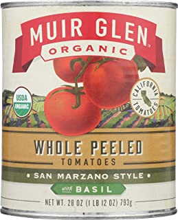 product image for Muir Glen Organic Peeled Whole Tomatoes with Basil, 28 oz
