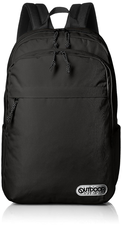 [アウトドアプロダクツ] デイパック UTILITY PACK A4サイズ 486 B06XDQKRXP ブラック ブラック