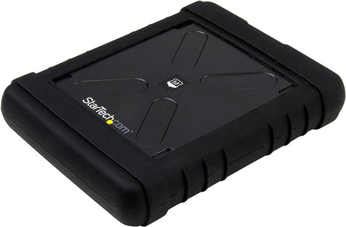 Portable HDD//SDD w// UASP S251SMU33EP 2.5 SATA III Hard Drive Enclosure StarTech.com eSATAp//eSATA External Hard Drive Enclosure