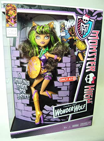 Amazon.es: Monster High Power Ghouls Wonder Wolf - Clawdeen Wolf ...