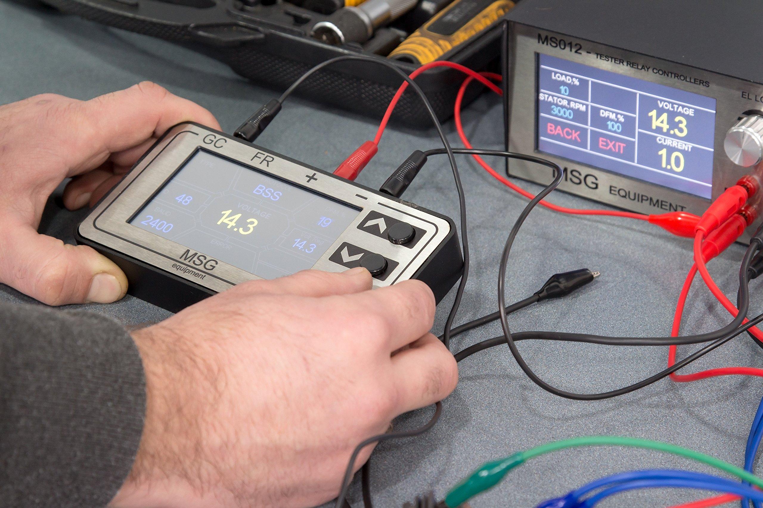 MSG MS013 COM Alternator Voltage Regulator Tester by MSG (Image #2)