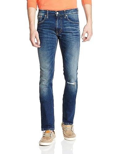 Levis Men's Skinny Fit Jeans Jeans at amazon
