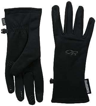 Outdoor Research Backstop Sensor Gloves Women winddichte Damen Fleece-Handschuhe Bekleidung Camping & Outdoor