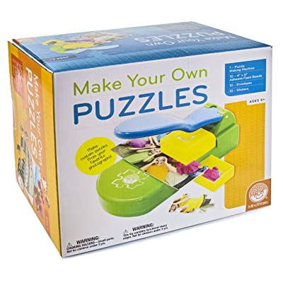 Make Your Own Puzzles: Toys & Games