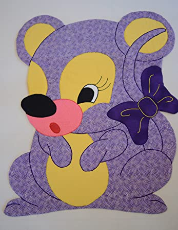 Amazon com: Baby Quilt Patterns, by Kiddie Komfies, Mouse