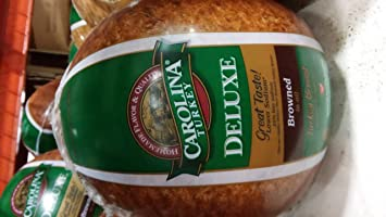 Carolina Deluxe Browned Turkey Breast 9 Lb Amazon Grocery