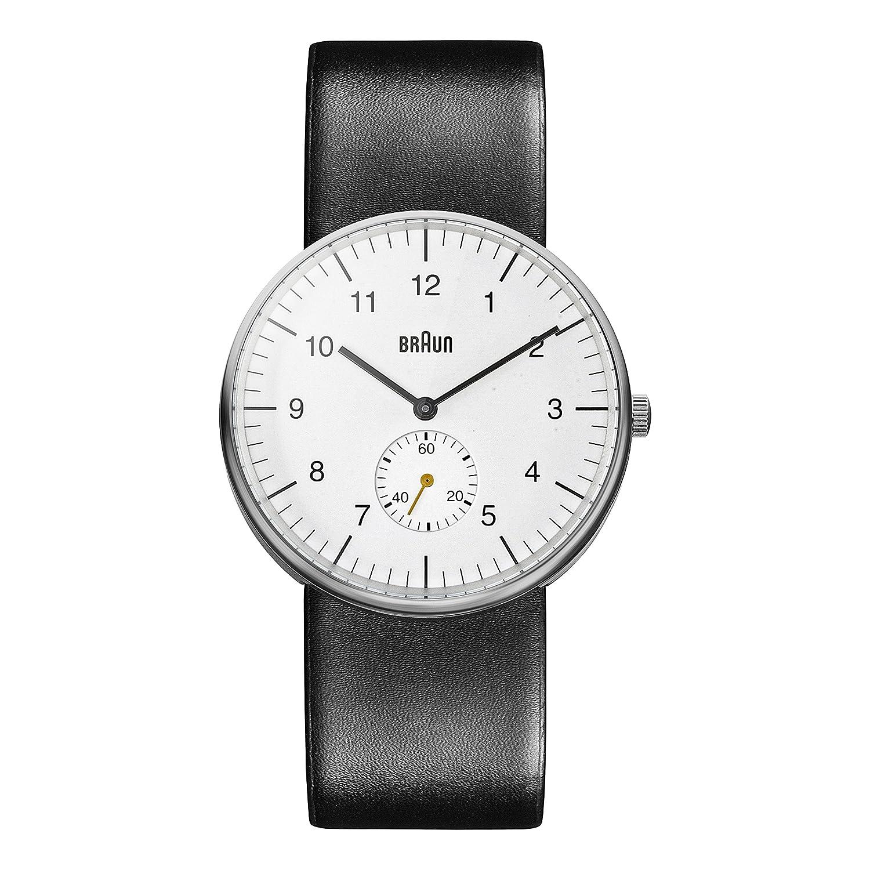 Braun Herren-Armbanduhr Analog Quarz BN0024WHBKG