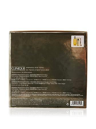 Amazon.com : Estuche Clinique Aromatics Elixir Edp 100 ml + ...