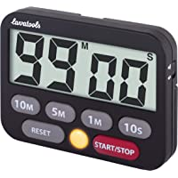 Lavatools KT3 Kitchen Timer & Stopwatch, Large Digits, Loud Alarm, Mute Function, Quick-Set Buttons, Magnetic Stand…