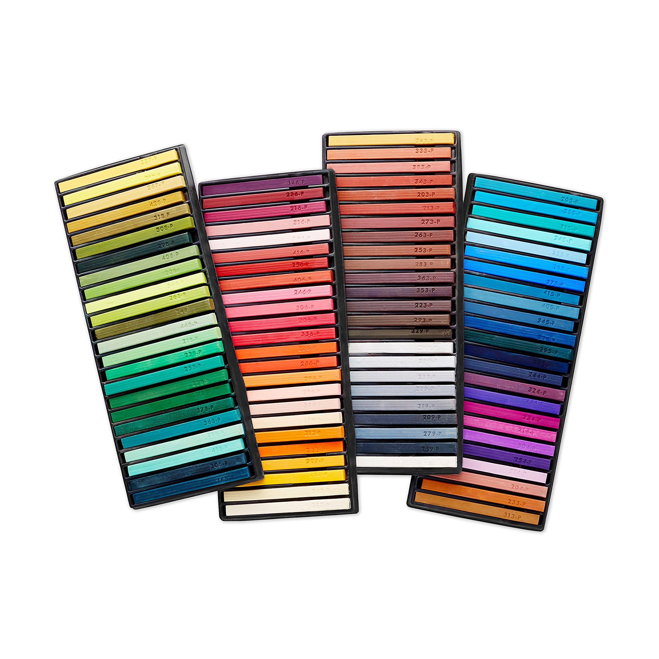 Prismacolor 27055 Premier NuPastel Firm Pastel Color Sticks, 96-Count by Prismacolor (Image #2)