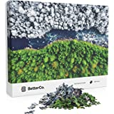 BetterCo. - Split Seasons Puzzle - Difficult Jigsaw Puzzles 1000 Pieces - Challenge Yourself with 1000 Piece Puzzles for Adul