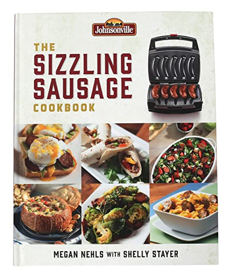 Perfect Johnsonville 603881 The Sizzling Sausage Cookbook, White