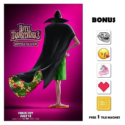 Hotel Transylvania 3 Movie Poster 13 In X 19 Flyer Borderless Bonus 1