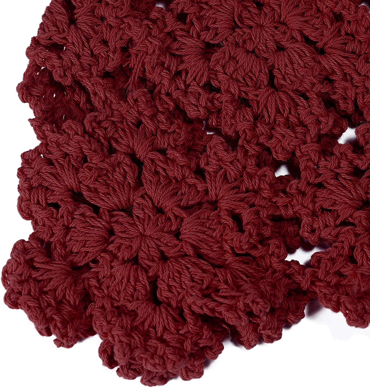 Bonnet en coton pour femme avec motif t/ête de mort en tricot /à la main