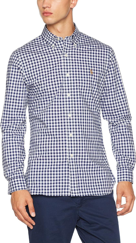 Polo Ralph Lauren Poplin TBD, Camisa para Hombre, Multicolor (1798 ...