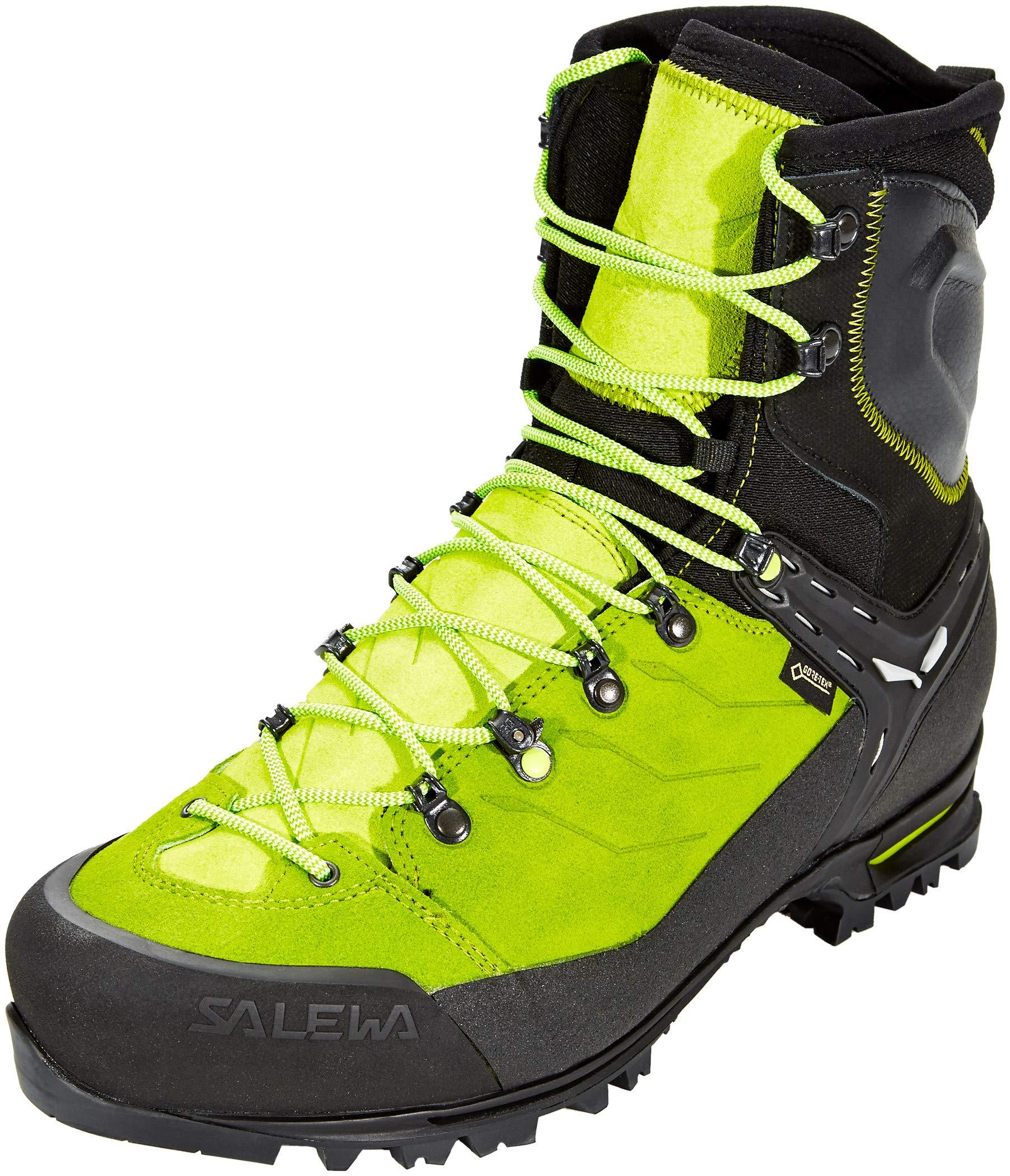 Salewa Men's Vultur EVO GTX Mountaineering Boots Black/Cactus 9.5 by Salewa