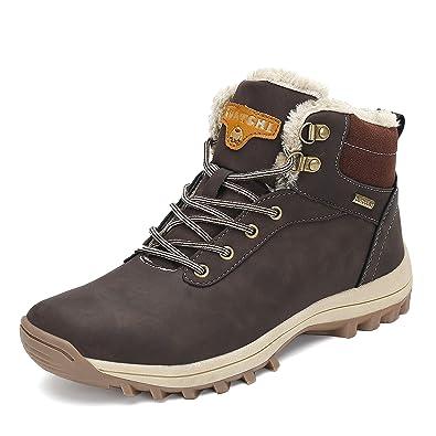 f0ef22aa086b59 Pastaza Winterschuhe Herren Damen Warm Gefüttert Schneestiefel Winter Outdoor  Boots Wasserdicht Winterstiefel