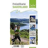 Freizeitkarte Sauerland: Straßen, Ausflugsziele, Informationen