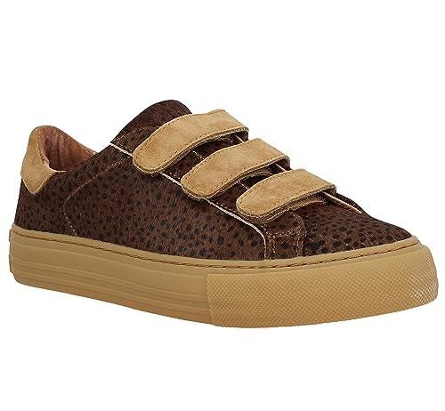 Zapatillas Arcade Straps Leopardo No Name: Amazon.es: Zapatos y complementos
