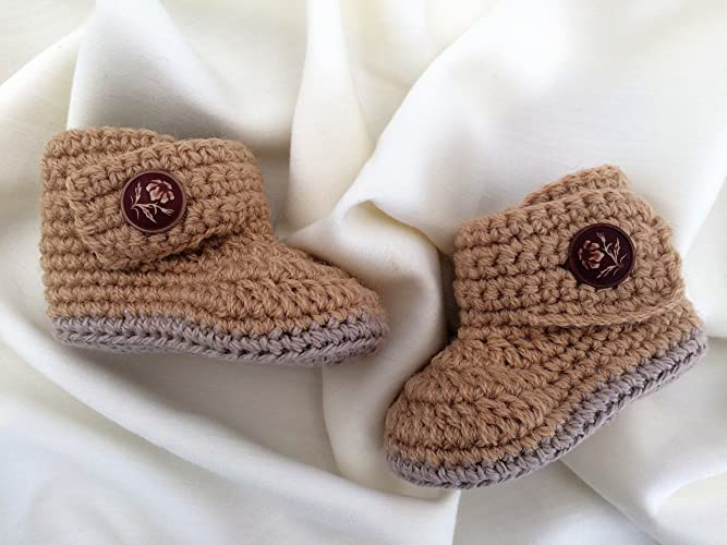 Amazon Baby Booties Cotton And Wool Crocheted Baby Boots For