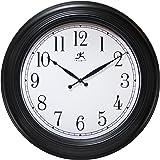 24 Inch Traditional Black Wall Clock