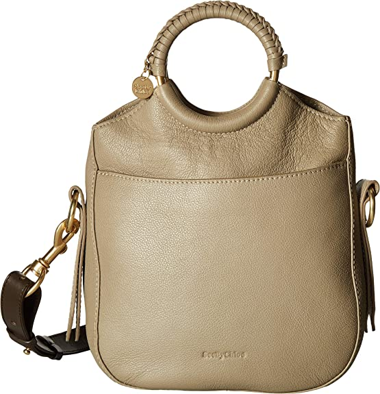 7dab47e3d974c Amazon.com  See by Chloe Women s Monroe Small Bracelet Tote Cement Beige  One Size  Shoes