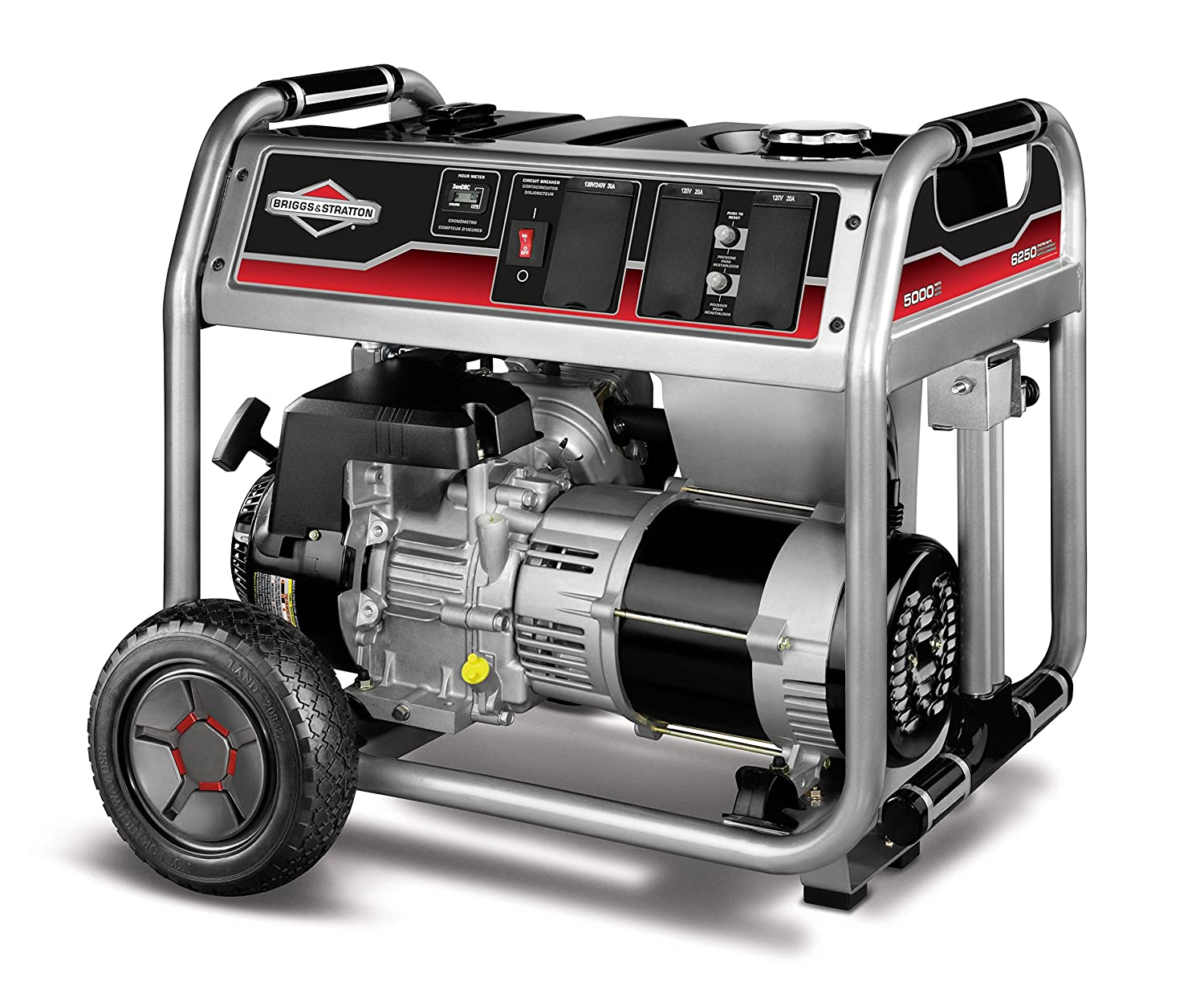 Briggs & Stratton 30622, 5000 Running Watts/6250 Starting Watts Gas Powered Portable Generator Discontinued by Manufacturer Briggs and Stratton Power Products