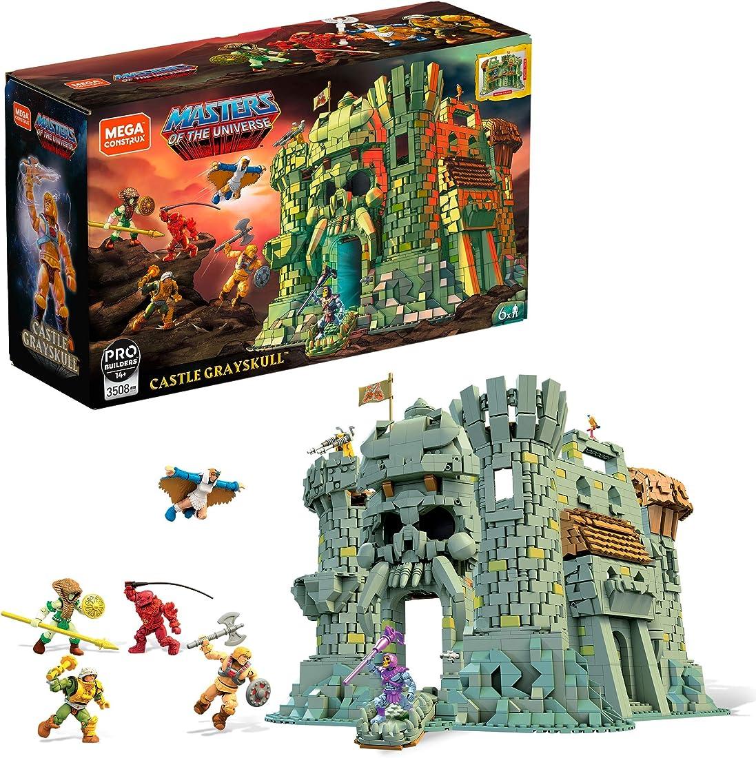 Castello del teschio lego mega construx masters of the universe con 3508 pezzi GGJ67