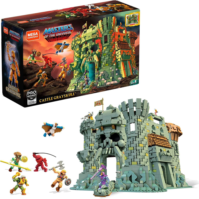 Evil Lyn Beast Man Mega Construx MOTU Lot Skeletor MOC!