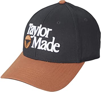 TaylorMade Golf 2015 TM 1983 Adjustable Golf Cap Hat (Black Copper ... a6384148ce7