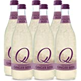 Q Drinks, Q Ginger Beer, Spectacular Ginger Beer, Premium Mixer, 500 ml Bottle (Case of 6)