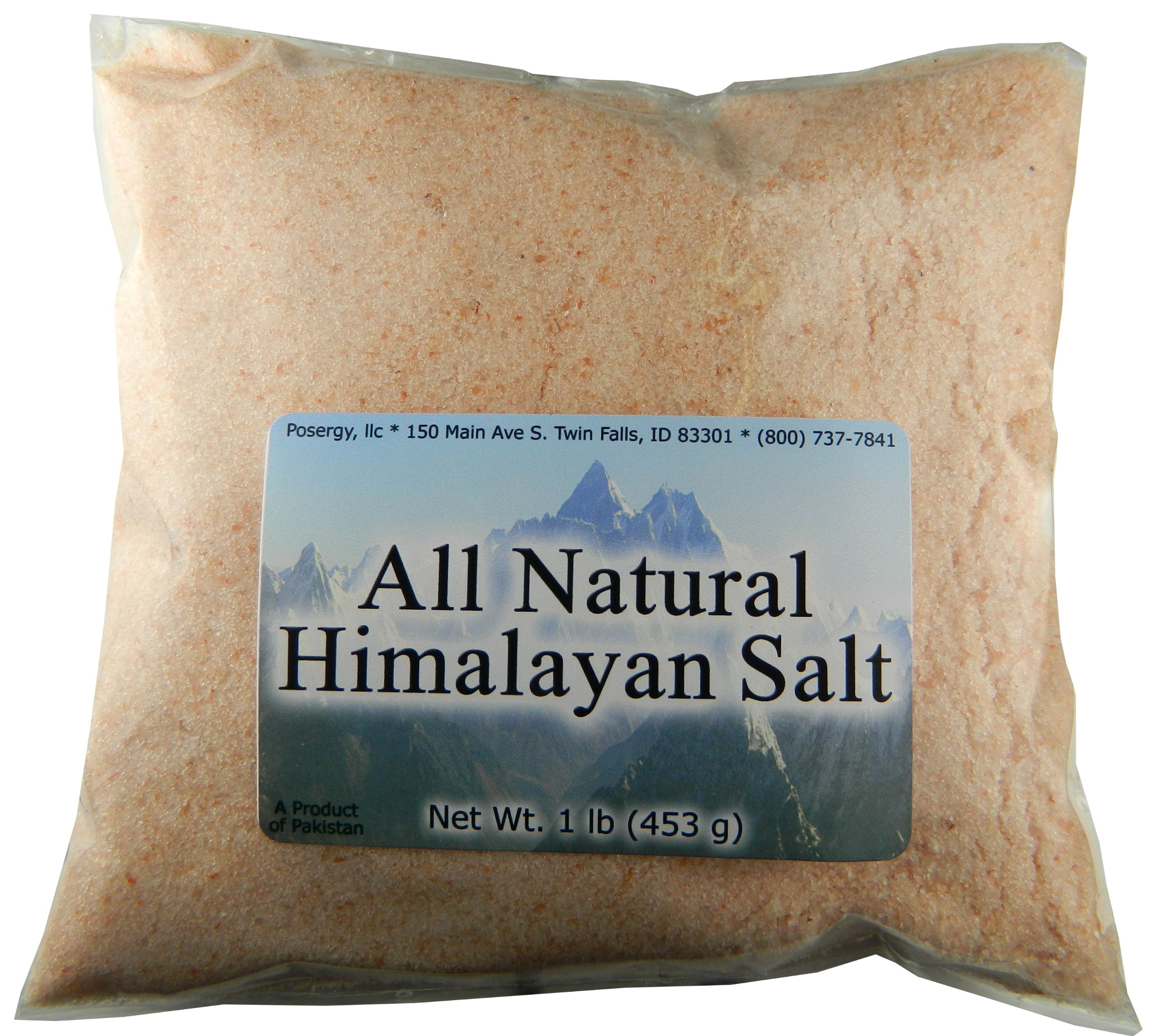 Unprocessed Fine Ground Himalayan Salt! 3lbs