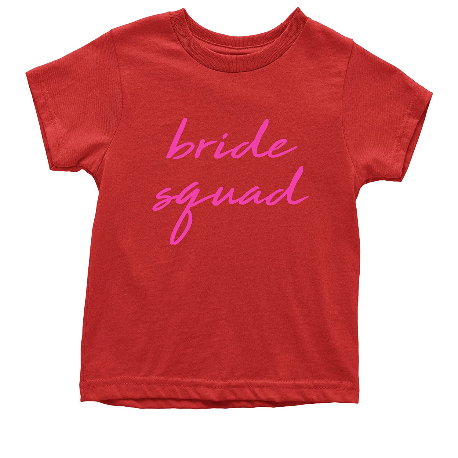 Expression Tees Bride Squad Bachelorette Youth T-Shirt