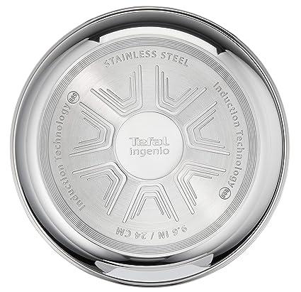 Amazon.com: Tefal Ingenio Pro L942S314 - Juego de 3 sartenes ...