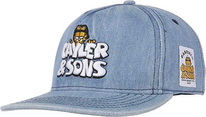 Cayler & Sons Gorra Garfield Denim by Gorragorra de Beisbol ...