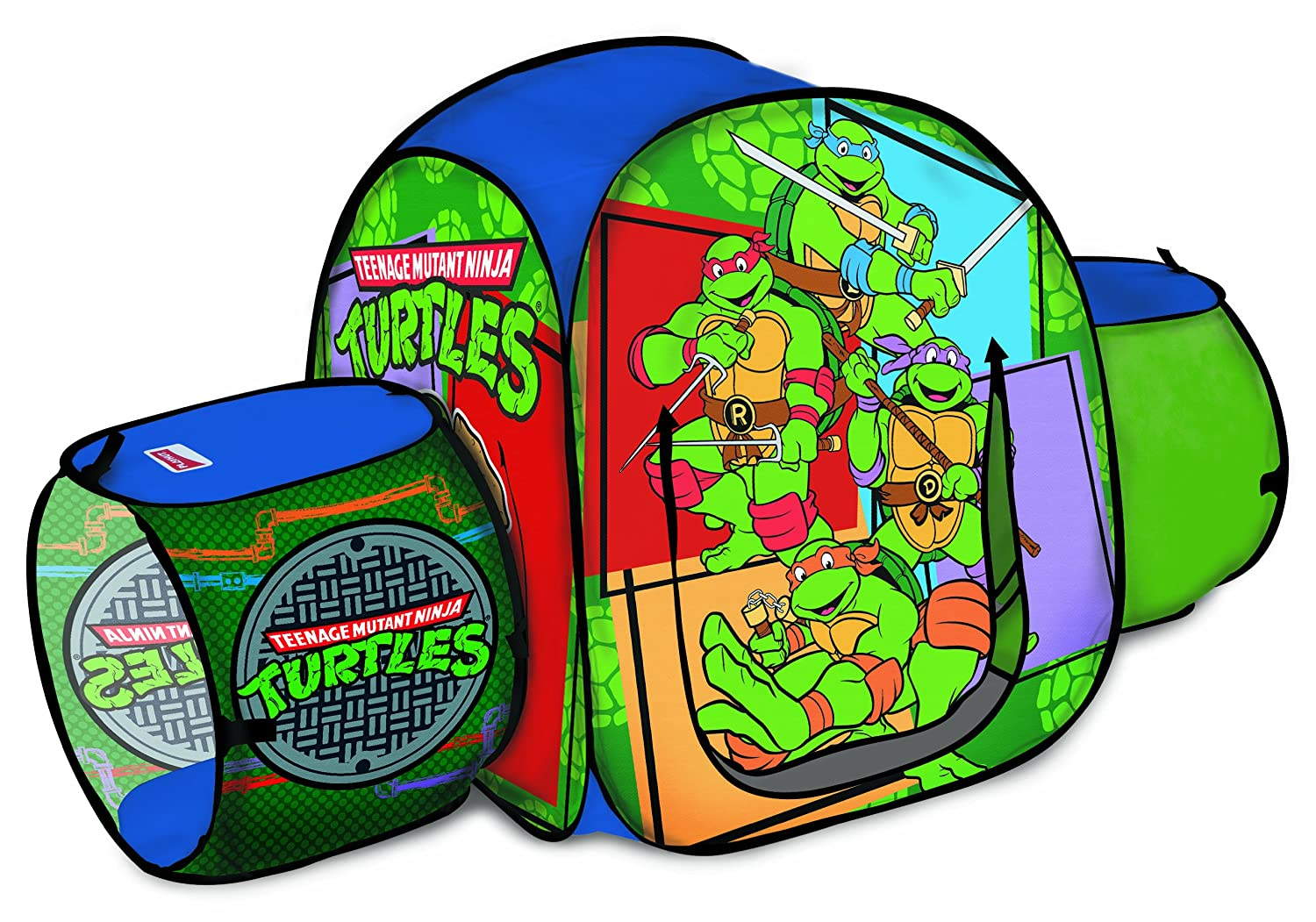 Amazon.com Playhut Teenage Hide u0027N Crawl Mutant Ninja Turtles Tent Toys u0026 Games  sc 1 st  Amazon.com & Amazon.com: Playhut Teenage Hide u0027N Crawl Mutant Ninja Turtles ...