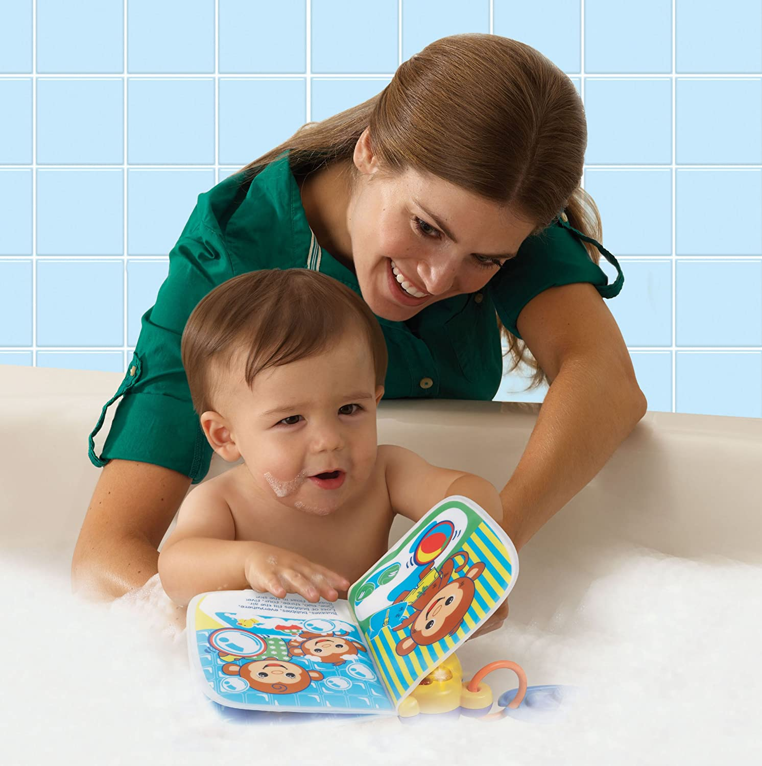 Amazon.com: VTech Sing and Squeak Bath Book: Toys & Games