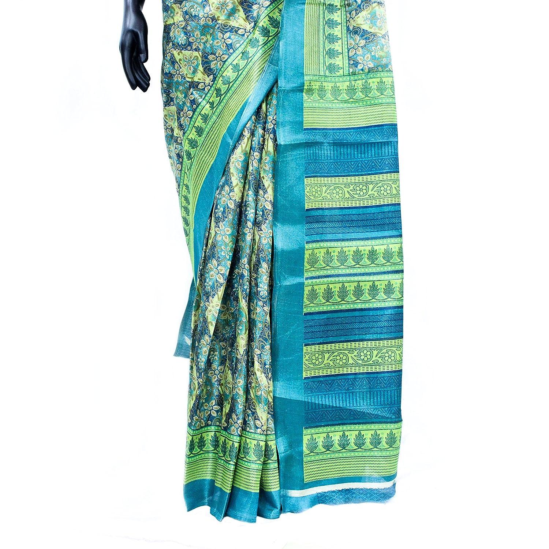 The Holy Mart Jute Silk Saree Sarees for Women Indian