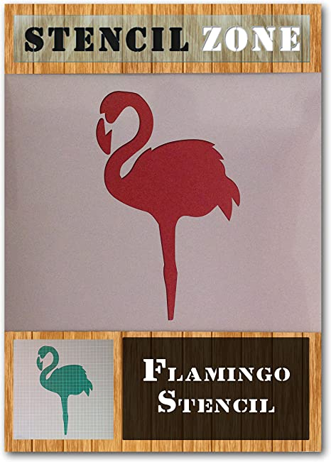Animal Stencil Airbrush Flamingo stencil Card making Craft Stencil
