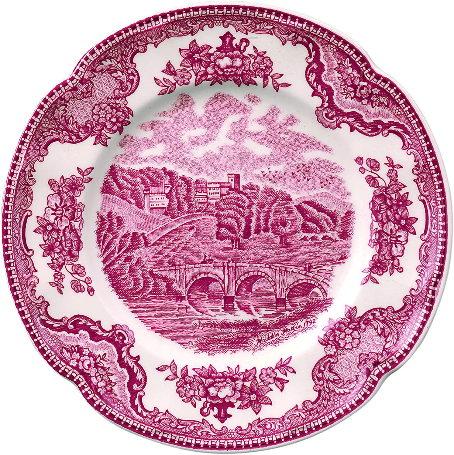 Pink Johnson Brothers Old Britain Castles Pink Bread /& Butter Plate 6.25